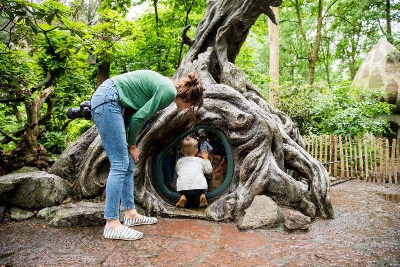 Auch für kleine Kinder gibt es in Efteling viel zu entdecken.