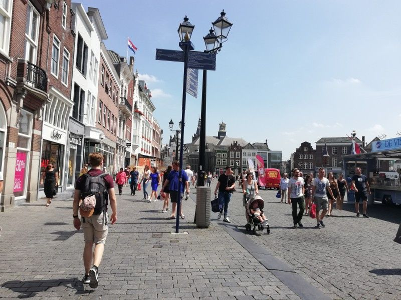 """'s-Hertogenbosch, von den Einheimischen """"Den Bosch"""" genannt bietet viel Kultur und Einkaufsmöglichkeiten."""