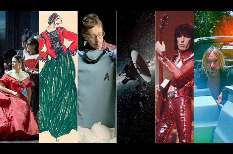 Zwischen Weltraum, Mode und Musik mussten sie sich am späteren Abend entscheiden.