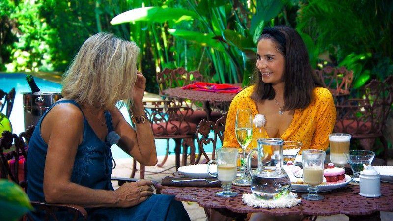 """Vor allem von Diana aber ist Conny sehr angetan. """"Ich hatte einen sehr positiven Eindruck heute"""", sagt die """"Bachelor""""-Mama."""