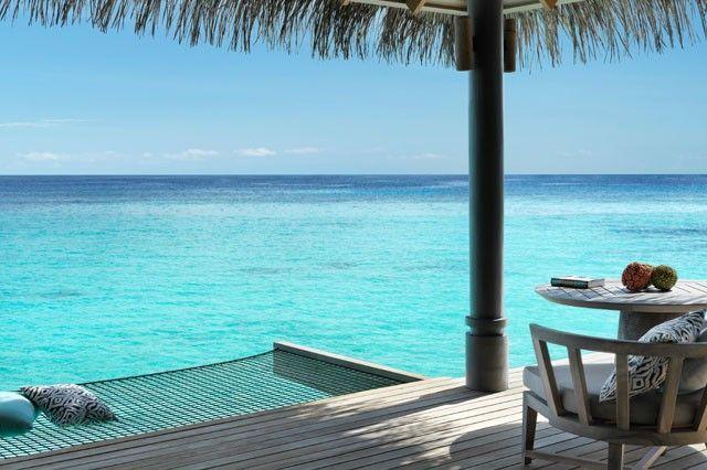 Erholung pur: in der eigenen Villa den Blick aufs Meer genießen und die Seele baumeln lassen