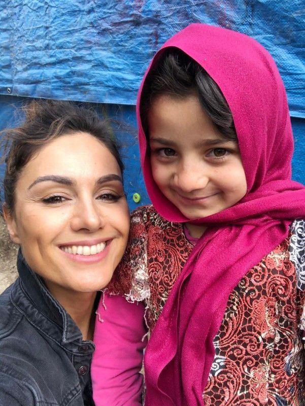 Dass die Kinder trotz des Leids so fröhlich sind, hat Nazan Eckes tief beeindruckt.