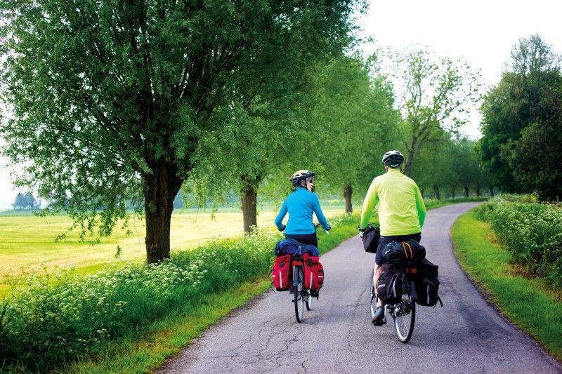 Mit dem Frühling wächst auch die Lust auf Urlaub mit dem Fahrrad.