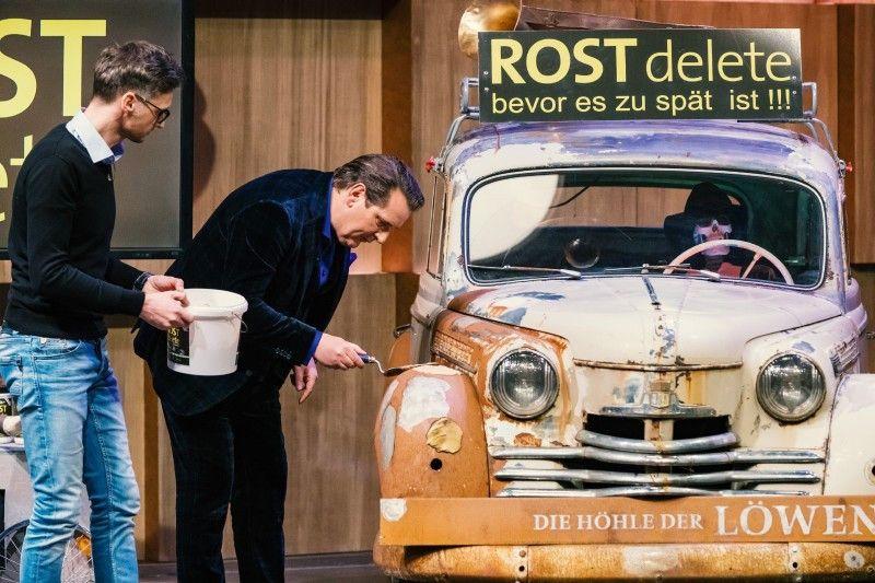 <b>Der Wunsch:</b> 100.000 Euro für 20 Prozent Firmenanteile</p> <p> <b>Der Deal:</b> Ralf Dümmel bekommt für die 100.000 Euro 30 Prozent.