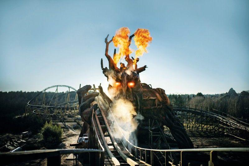 "Attraktion im Heidepark: ""Colossos – Kampf Der Giganten"""
