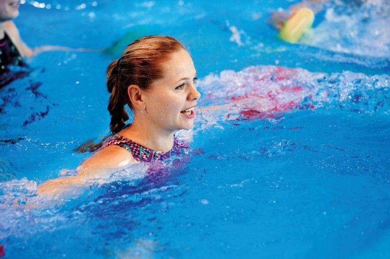 Aquafitness bietet Trainieren ohne Last.
