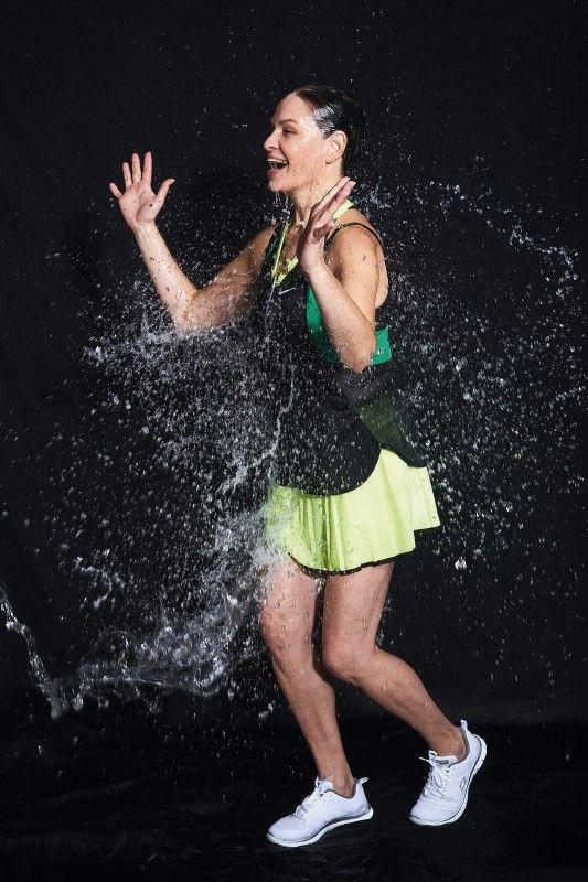 In ihrer Akademie bildet Brita Karnahl Aquafitness-Trainer aus.