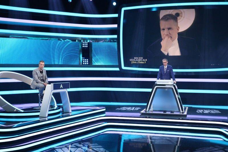 """Zuletzt waren Günther Jauch und Oliver Pocher zusammen bei """"Bin ich schlauer als Pocher"""" gemeinsam bei RTL zu sehen."""