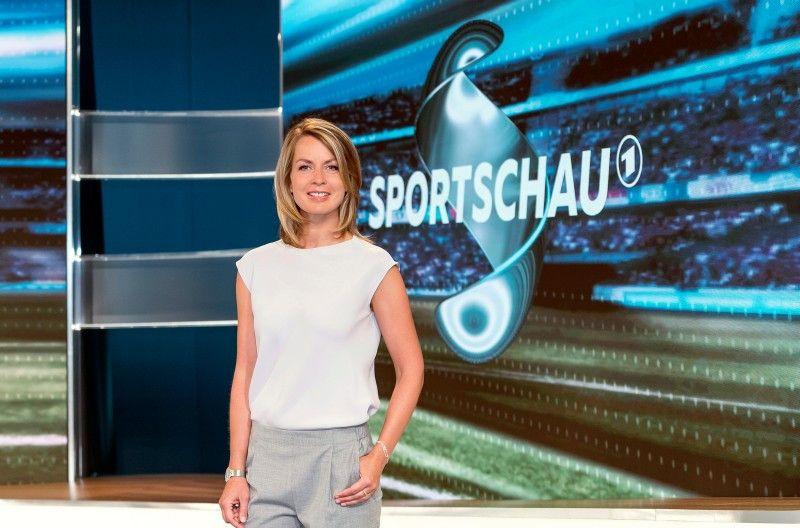 """""""Sportschau""""-Moderatorin Jessy Wellmer."""
