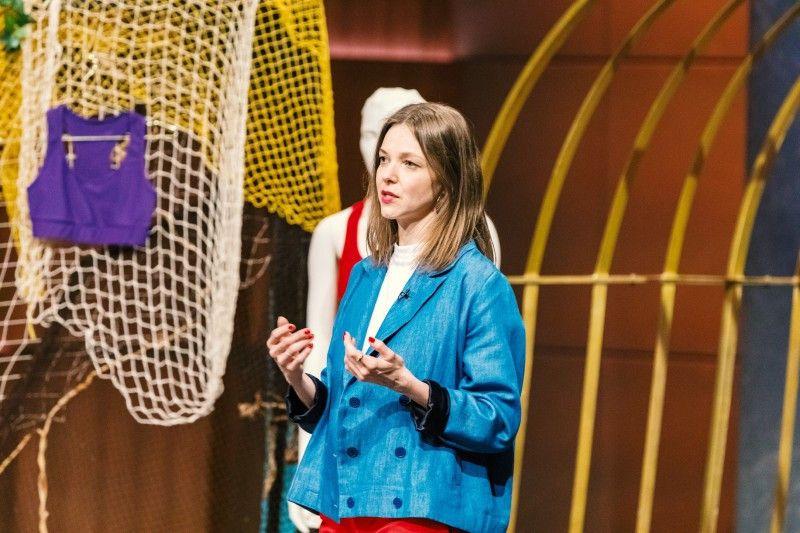 """<b>Folge 4:</b> Barbara Gölles stellt mit ihrem Label """"Margaret and Hermione"""" Bademode aus alten Fischernetzen her."""