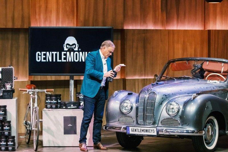 <b>Der Wunsch:</b> 150.000 Euro für zehn Prozent Firmenanteile</p> <p> <b>Der Deal:</b> Georg Kofler und Ralf Dümmel bieten beide die ausgerufene Summe, wollen aber 30 Prozent. Dümmel bekommt den Deal.