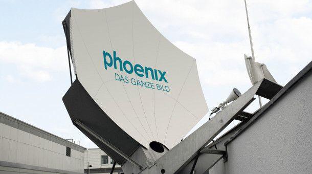 Phoenix überträgt die PK live.