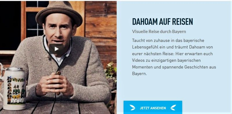 Virtuell verreisen mit Bayern Tourismus.