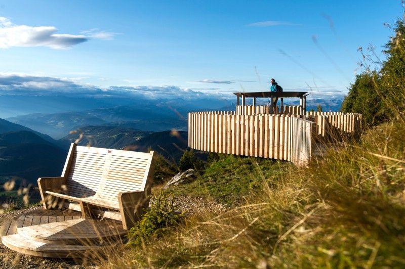 Die faszinierende Welt rund um den Latemar mit Panorama-Aussichten genießen.
