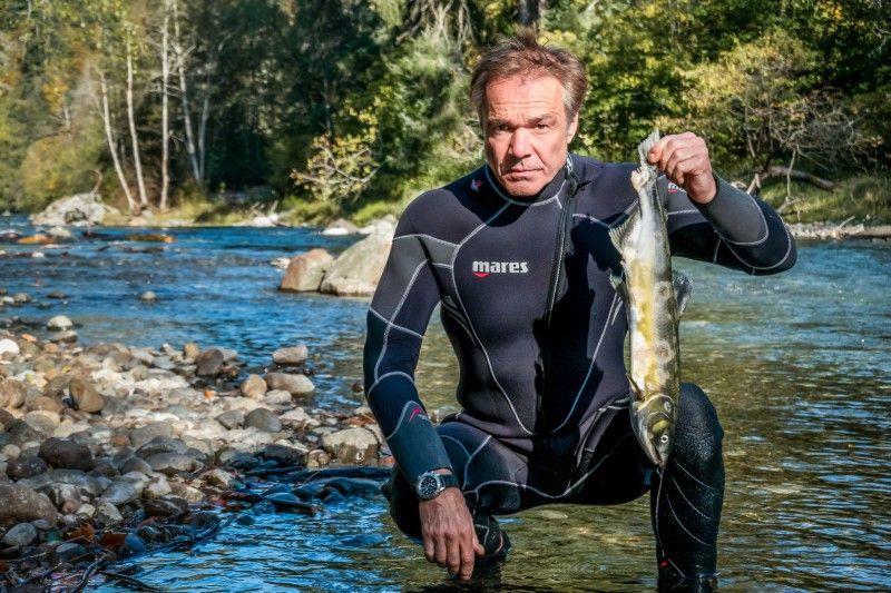 Am Campbell River auf Vancouver Island erreichen immer weniger Lachse ihre Heimatgebiete. Immer mehr Buckellachse sterben hier bevor sie ihre Laichgründe erreicht haben.