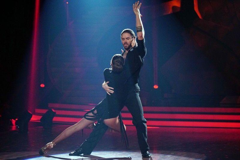 Leidenschaftlich: Gil Ofarim und Ekaterina Leonova beim Tango.