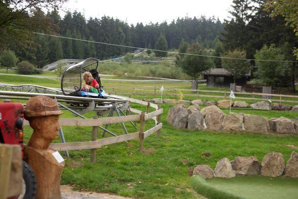Die Sommerrodelbahn in Sankt Englmar bietet eine sportlich-spaßige Abwechslung.