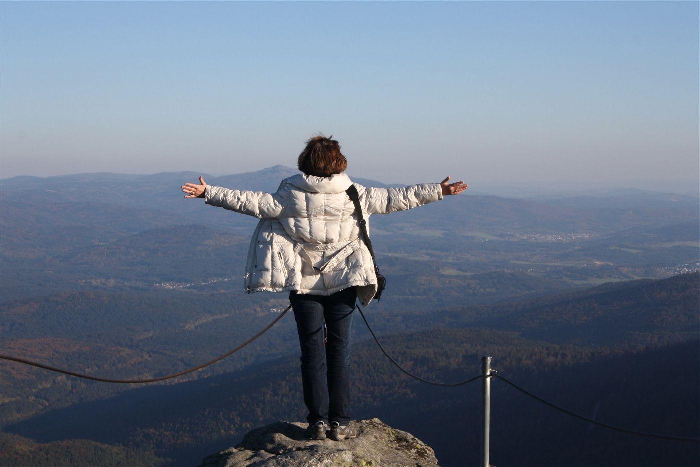 """Echtes """"Titanic-Feeling"""" gibt es auf dem Arber, dem höchsten Berg des Bayerischen Waldes."""