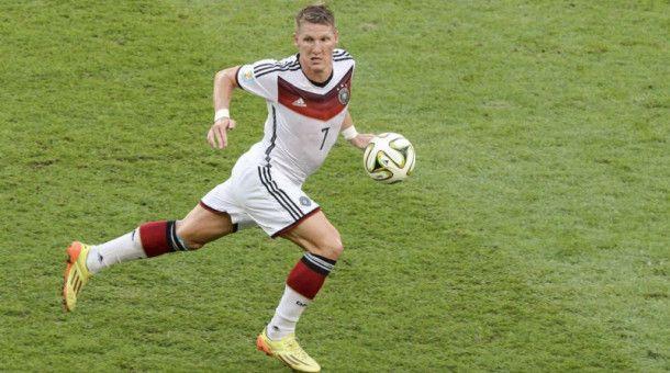 Bastian Schweinsteiger wurde 2014 mit Deutschland Weltmeister, mittlerweile hat er seine Profi-Karriere beendet.