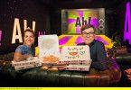 Die Moderatoren Clarissa und Ralph beschäftigen sich mit der Ernährung.