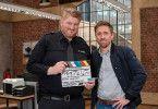 """In der 34. Staffel der ARD-Serie """"Großstadtrevier"""" werden die Darsteller Marc Zwinz (l.) und Peter Fieseler (r.) die Serie verlassen."""