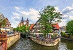 Die wunderschöne Altstadt in Esslingen.