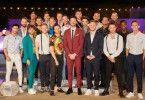 """""""Prince Charming"""" Alexander Schäfer mit den 20 Kandidaten, die um ihn buhlen. Wir stellen die Single-Männer vor."""