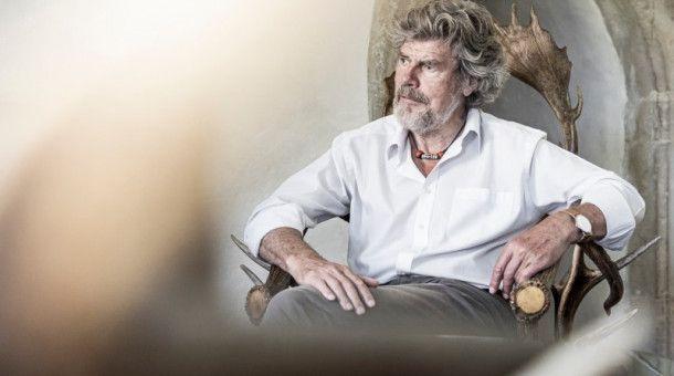 Reinhold Messner lebt in Südtirol.