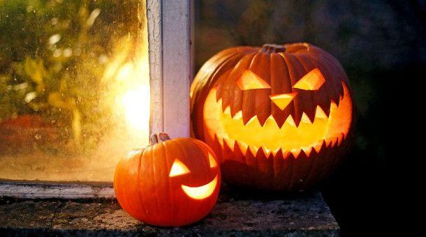 Am 31. Oktober ist Halloween.