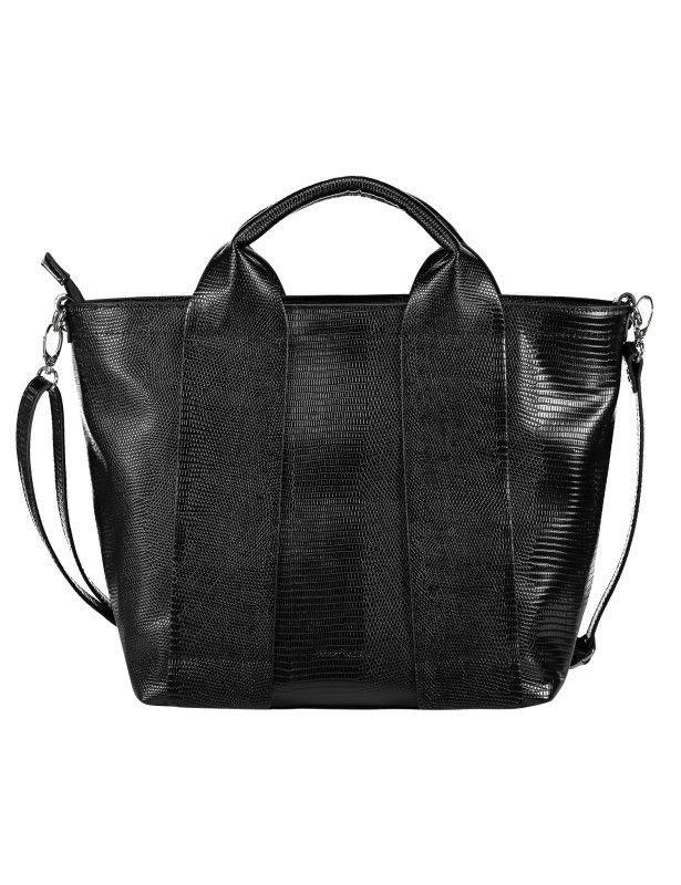 Schön und praktisch: Die Handtasche von Gerry Weber sieht nicht nur gut aus und lässt sich mit vielen Looks kombinieren, es passt auch alles rein, was man unterwegs braucht.
