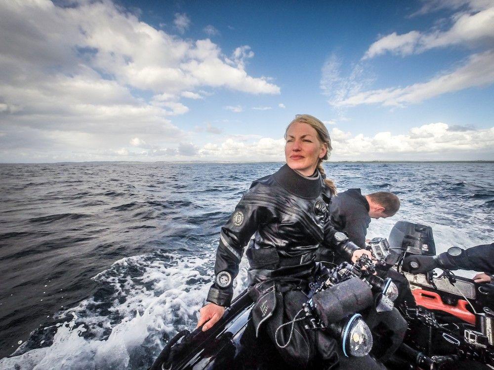 Die renommierte Unterwasserfilmerin Christina Karliczek hat sich diesen faszinierenden Tieren im eiskalten Nordmeer genähert.