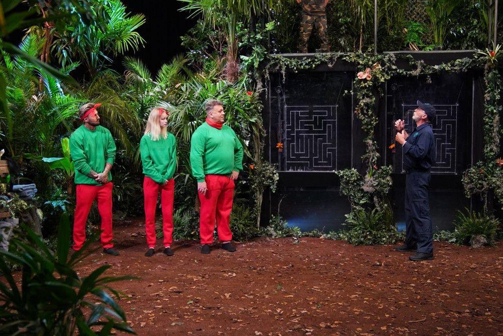 """Mike Heiter, Zoe Saip und Frank Fussbroich eröffnen also den """"Dschungelcamp""""-Ersatz."""