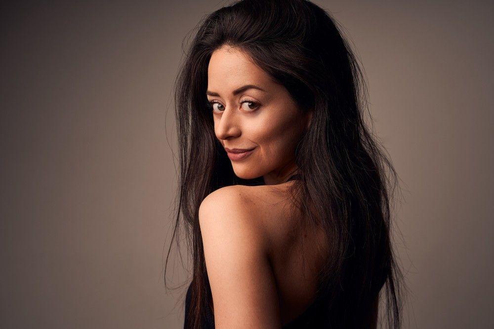 """Malika Dzumaev (29, aus Bremen, u.a. 2020 Norddeutsche Meisterin Latein). Sie gibt bei """"Let's Dance"""" ihr Debüt."""