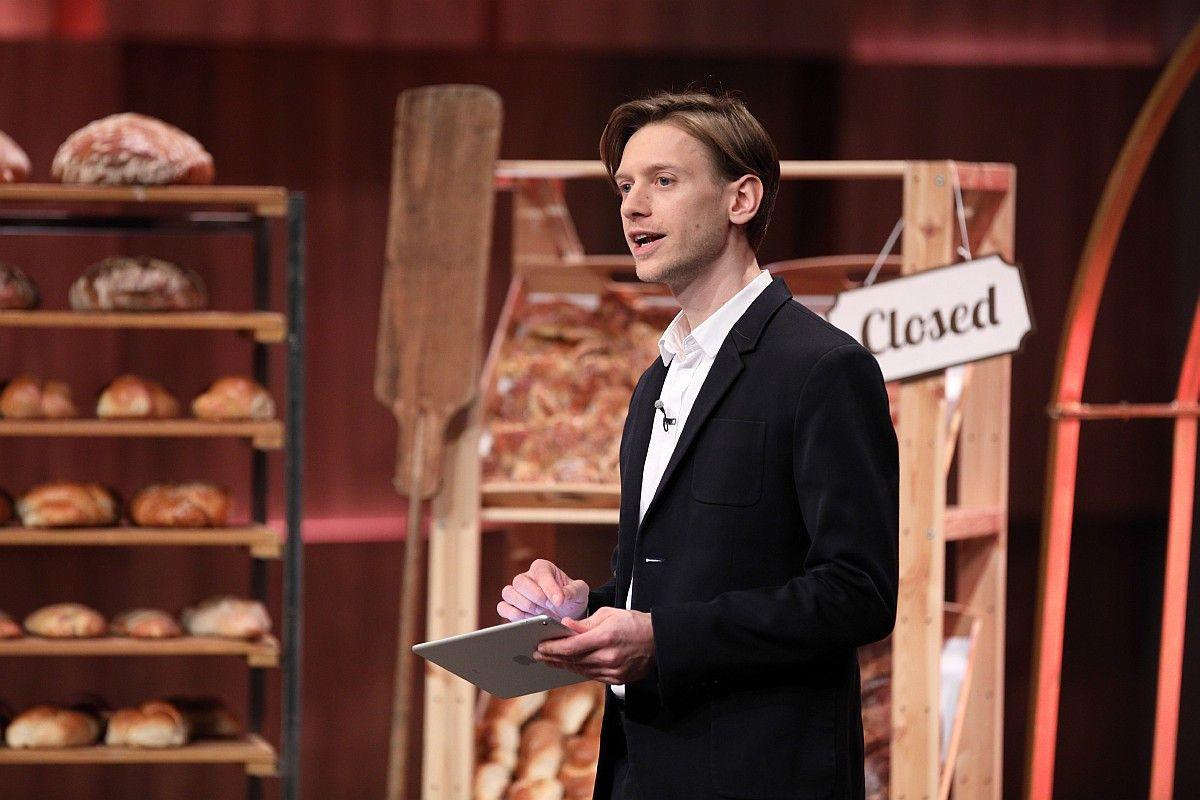 """<b>Folge 4:</b> Justus Lauten (31) hat eine Software entwickelt, die unnötige Lebensmittelverschwendung reduzieren soll. Carsten Maschmeyer investiert 120.000 Euro in """"Werksta.tt"""" und bekommt dafür 20 Prozent. <b>Im Nachgang der Show platzt der Deal.</b>"""