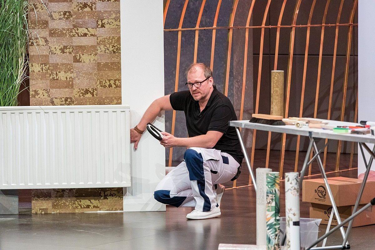 <b>Folge 7:</b> Die ergonomische Tapezierbürste SmartQ ist ein Produkt ganz nach dem Geschmack von Ralf Dümmel. Er holt sich 15 Prozent der Firmenanteile für 40.000 Euro.