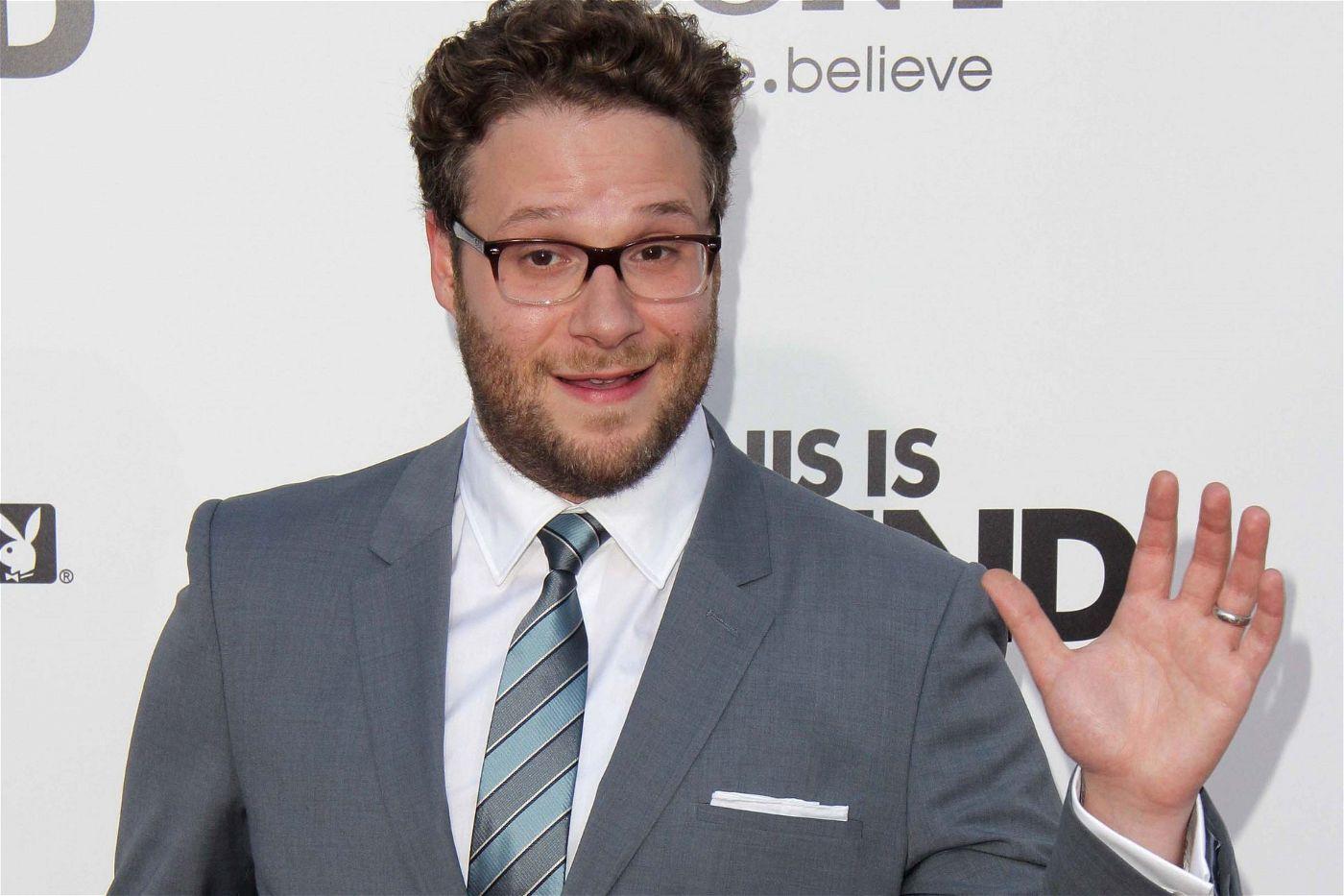 Comedian, Schauspieler und Drehbuchautor: Seth Rogen.