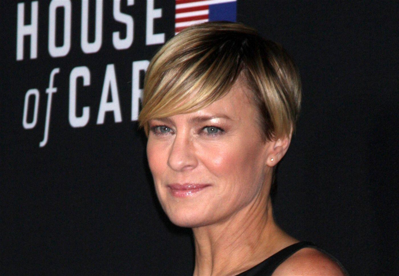 """Als Gattin von Kevin Spacey in der Serie """"House of Cards"""" sehr erfolgreich: Robin Wright."""