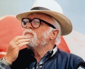 Regisseur und Schauspieler Richard Attenborough.