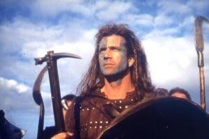 Mel Gibson in einer seiner Paraderollen als Braveheart