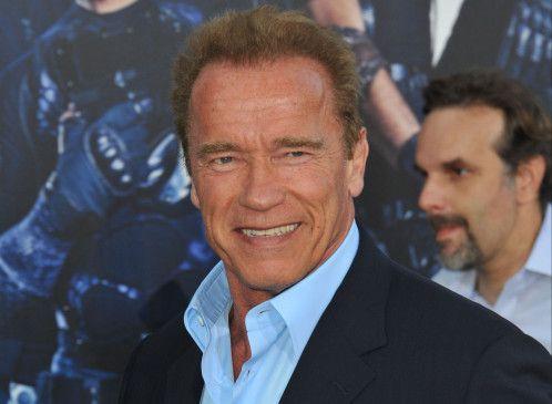 Muskelspielchen machten in berühmt: Arnold Schwarzenegger.