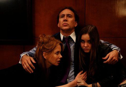 In der Gewalt skrupelloser Verbrecher: Der Diamantenhändler Kyle Miller (Nicolas Cage), seine Frau Sarah (Nicole Kidman) und Tochter Avery (Liana Liberato).