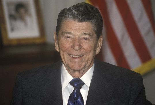 Ronald Reagan war von 1981 bis 1989 der 40. Präsident der USA.