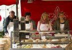Ein Wochenmarkt irgendwo in der französischen Provinz.