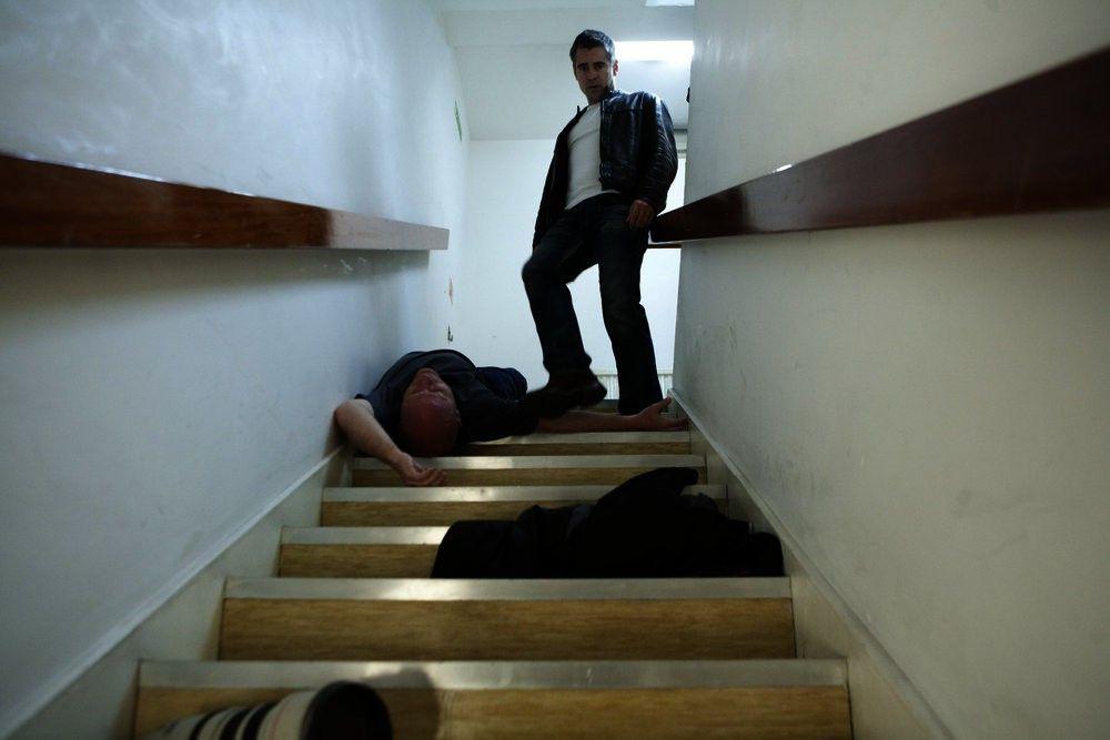 Den unverschämten Fotografen verpasst Mitchel (Colin Farrell, r.) eine Abreibung.