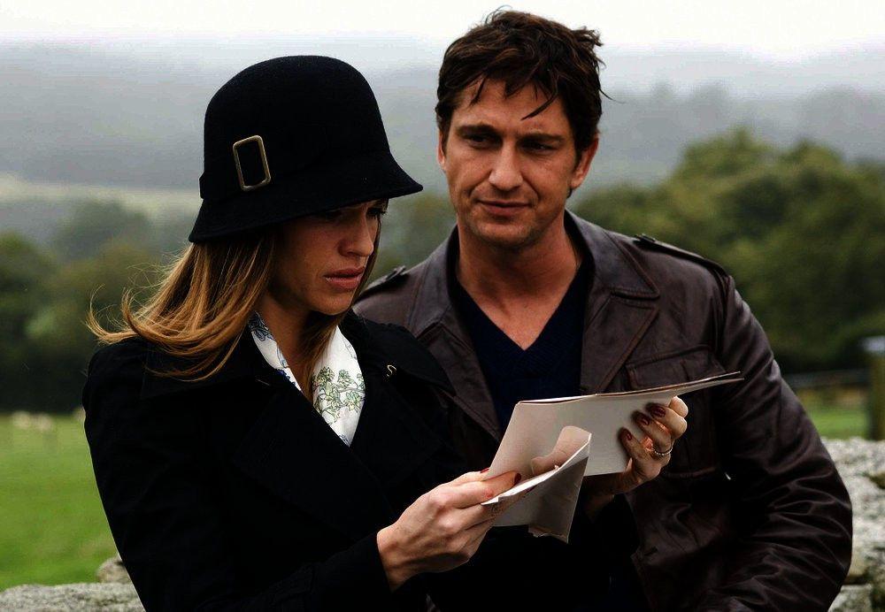 Gerry (Gerard Butler) und seine Frau Holly (Hilary Swank) haben keine einfache Beziehung.
