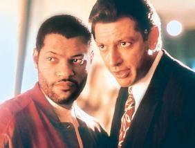 Was sehen meine trüben Augen da? Jeff Goldblum  (r.) und Laurence Fishburne.
