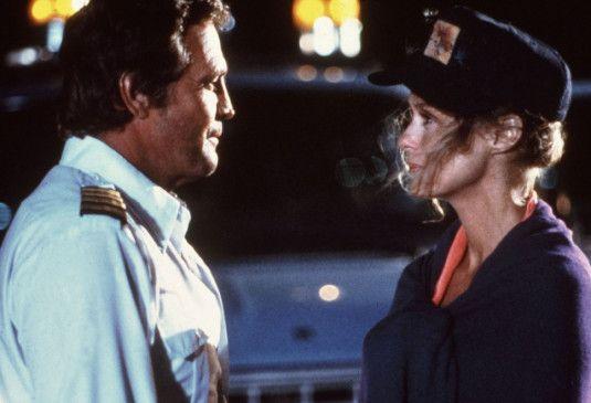 Abschied für immer? Kapitän Cody Briggs (Lee Majors) mit Pressesprecherin Erica Hansen (Lauren Hutton)