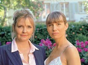 Ungleiche Schwestern: Katharina Schubert (l.) und Nadeshda Brennicke