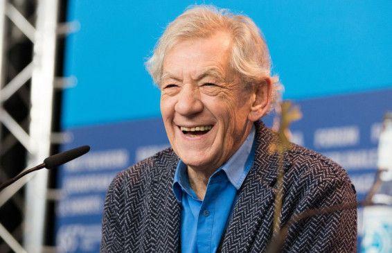 Schauspieler Sir Ian McKellen.
