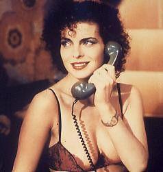 Nein, für Telefonsex bin ich nicht zu haben - Gudrun Landgrebe als Edel-Hure